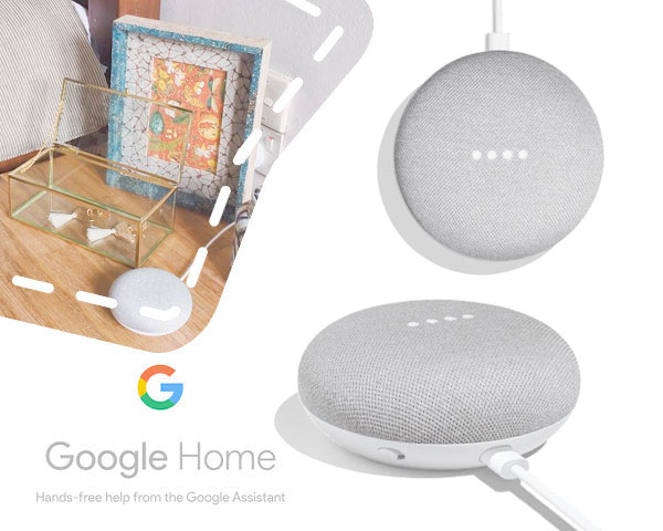 Google home mini slimme speaker